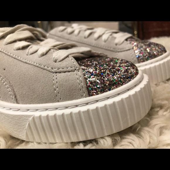 online store 29e5d 99a6f Puma Suede Platform Gem Sneaker